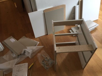 IKEA Bedside Table In Progress