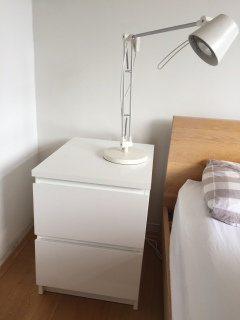 Complete IKEA Bedside Table