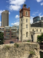 London Barbican - Many Architectural Ages