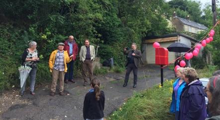 Celebrating Reinstatement of Downend's Post Box