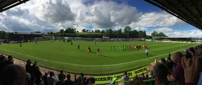 FGR's First English Football League Game