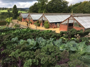 Chatsworth House, Kitchen Garden