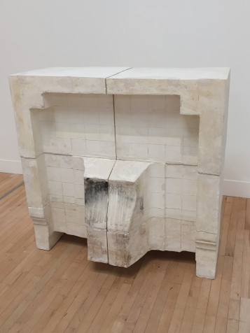 Rachel Whiteread at Tate Britain; Fireplace