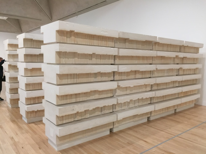 Rachel Whiteread at Tate Britain: Bookcase