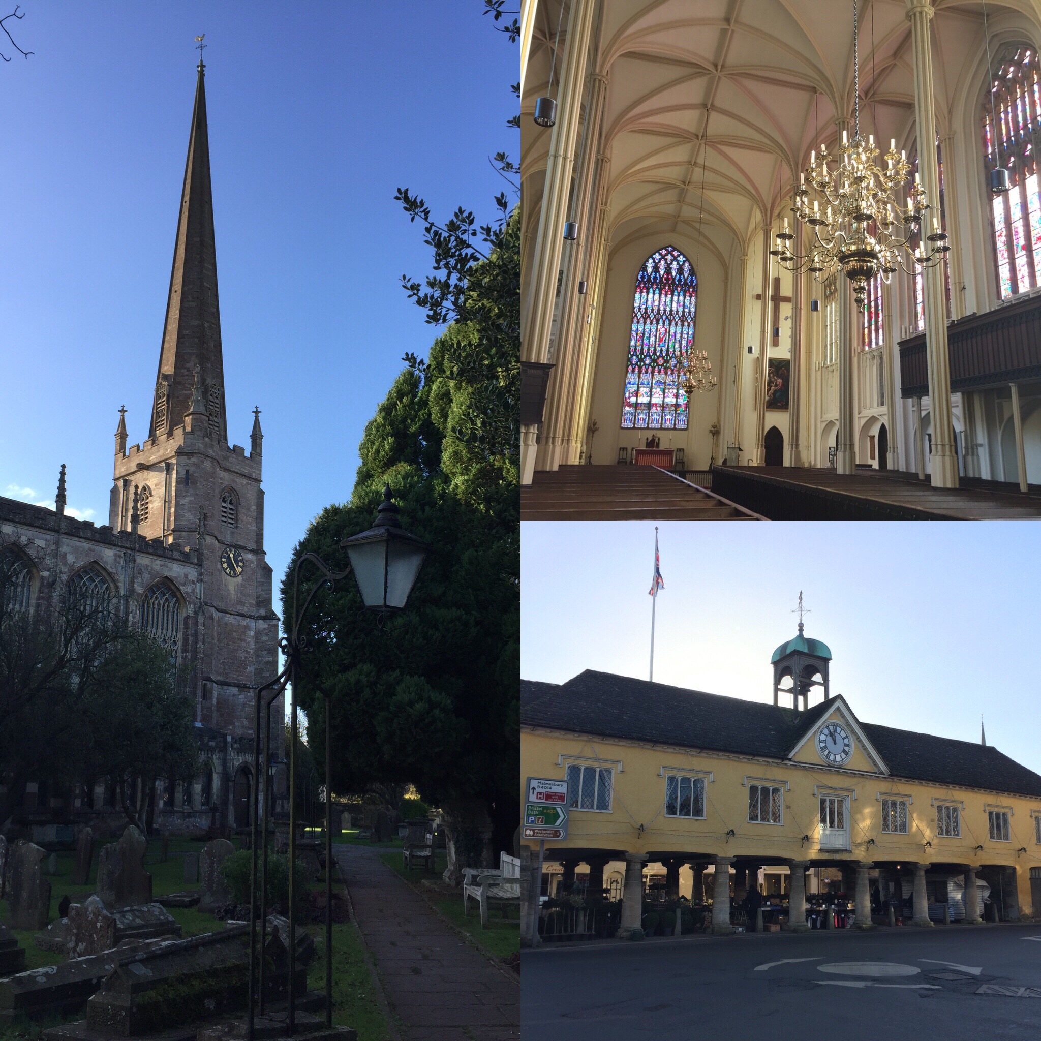 Tetbury Church and Market House