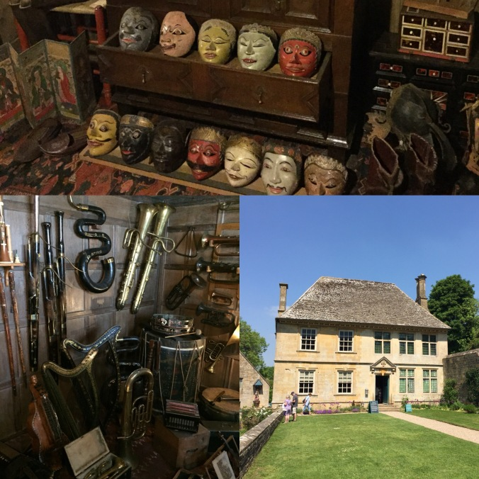 Part Of Charles Wade's Collection (Masks And Musical Instruments) at Snowshill Manor