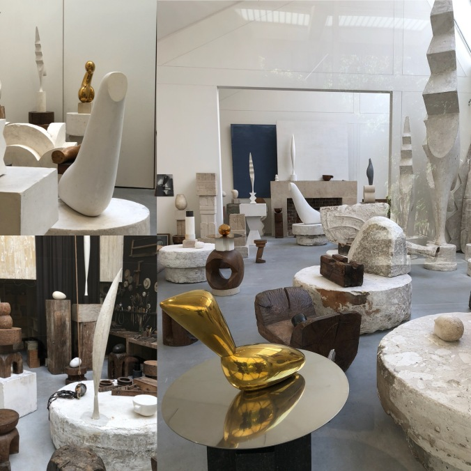 Views In Atelier Brancusi; His Reconstructed Studio