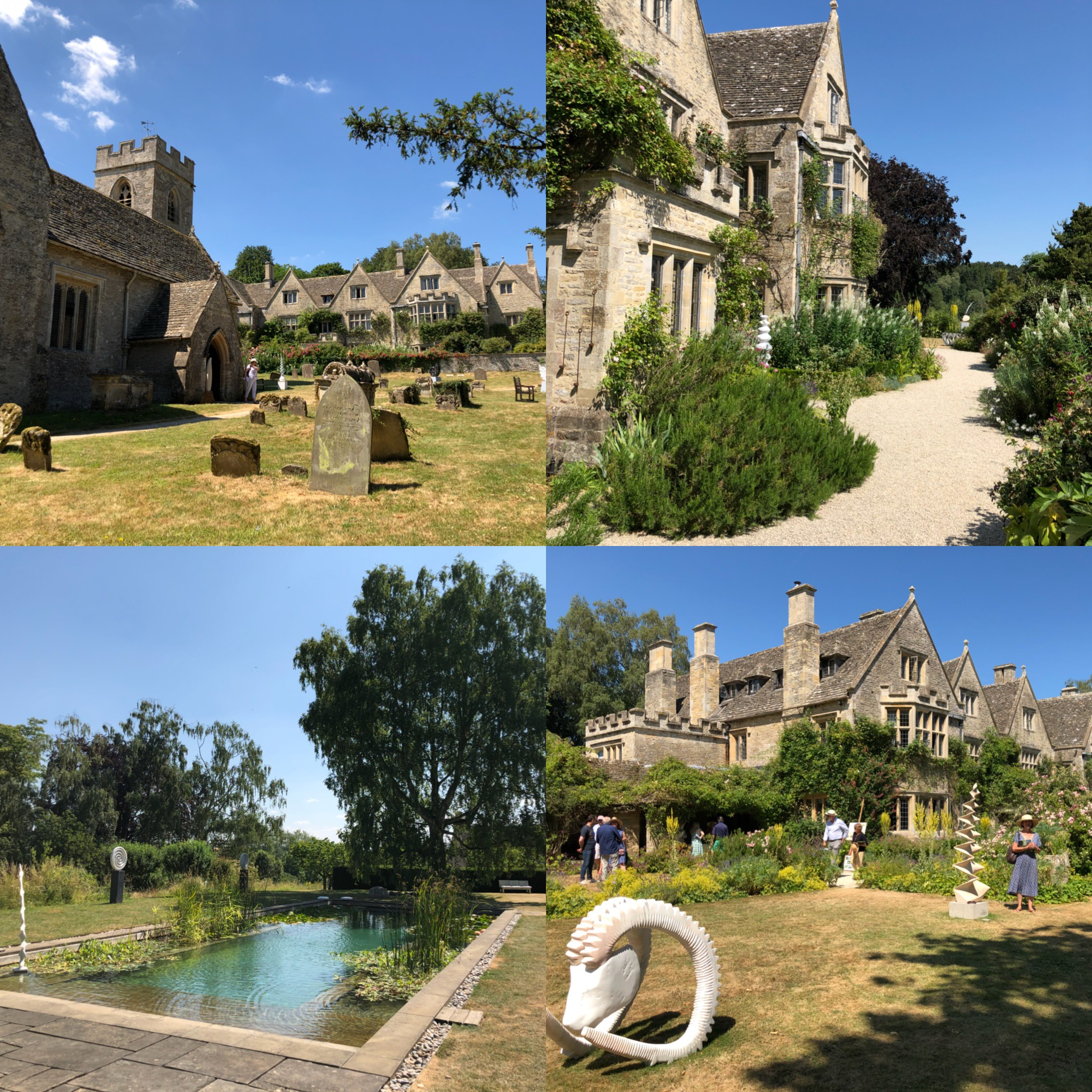 St Nicholas Church, Asthall And Asthall Manor Gardens