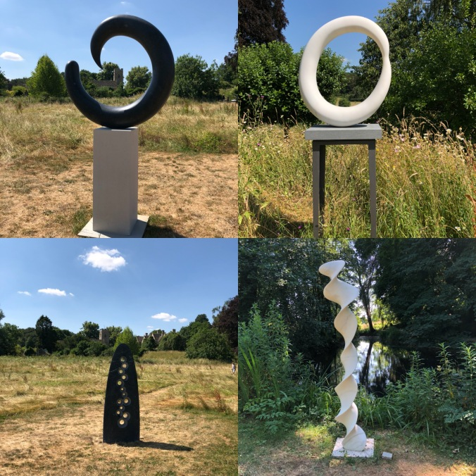 On Form Sculpture Exhibition, Asthall Manor Gardens