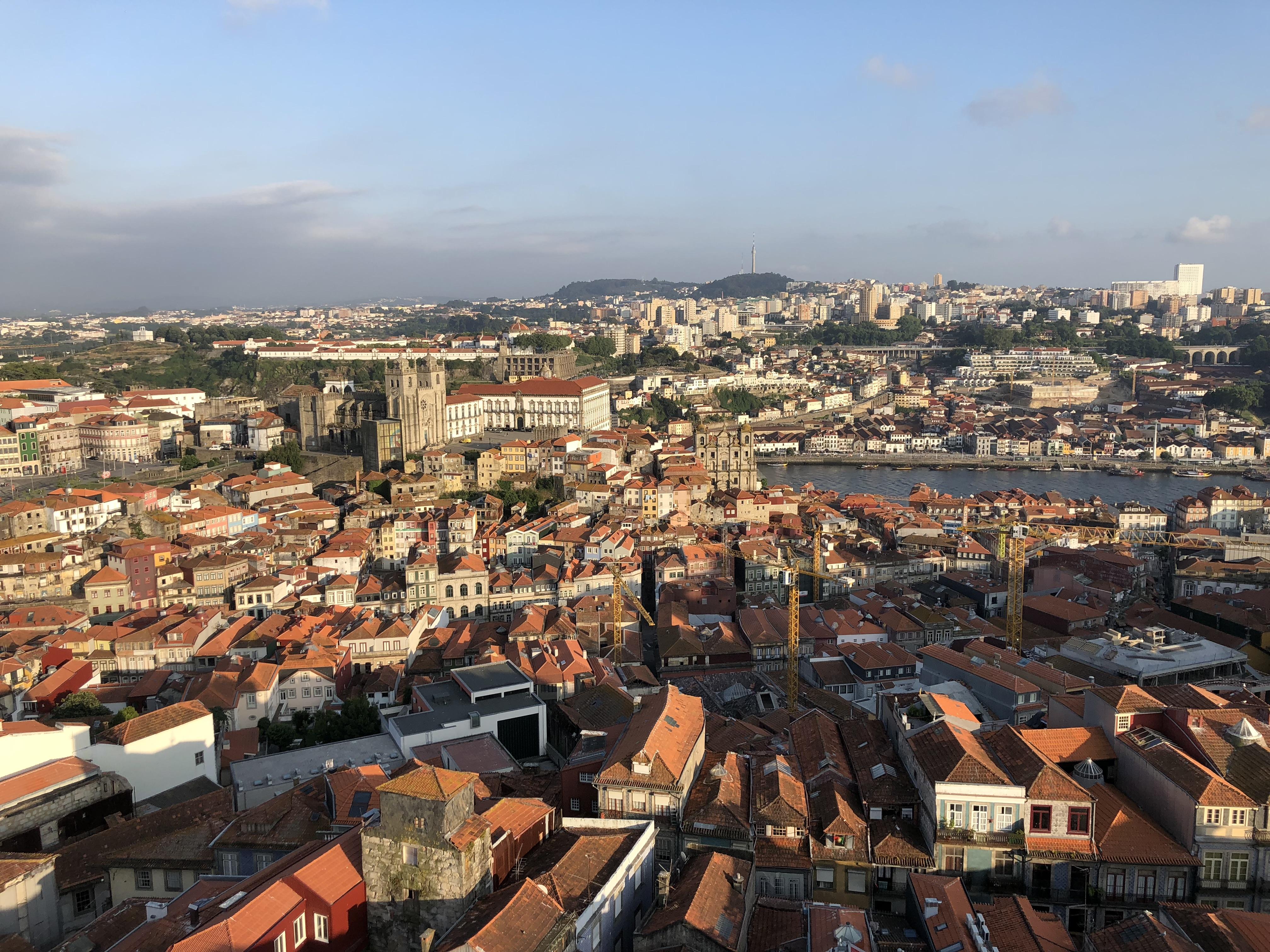 Porto From Torre Dos Clerigos