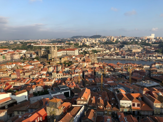 Porto From Torre Dos Clerigos