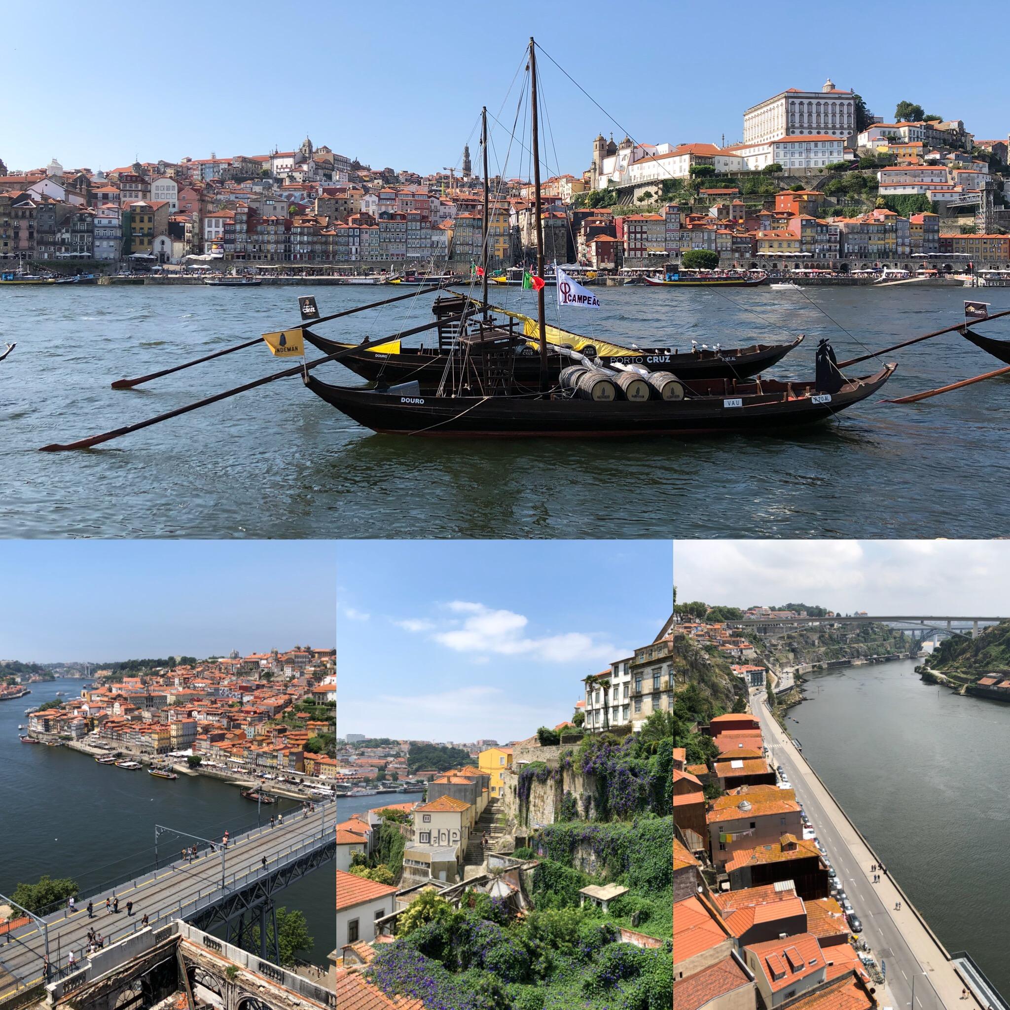 Porto And The Duoro River