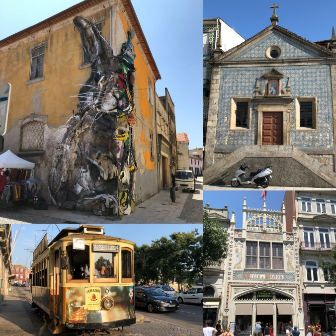 Porto's Graffiti, Trams And Tiled Buildings