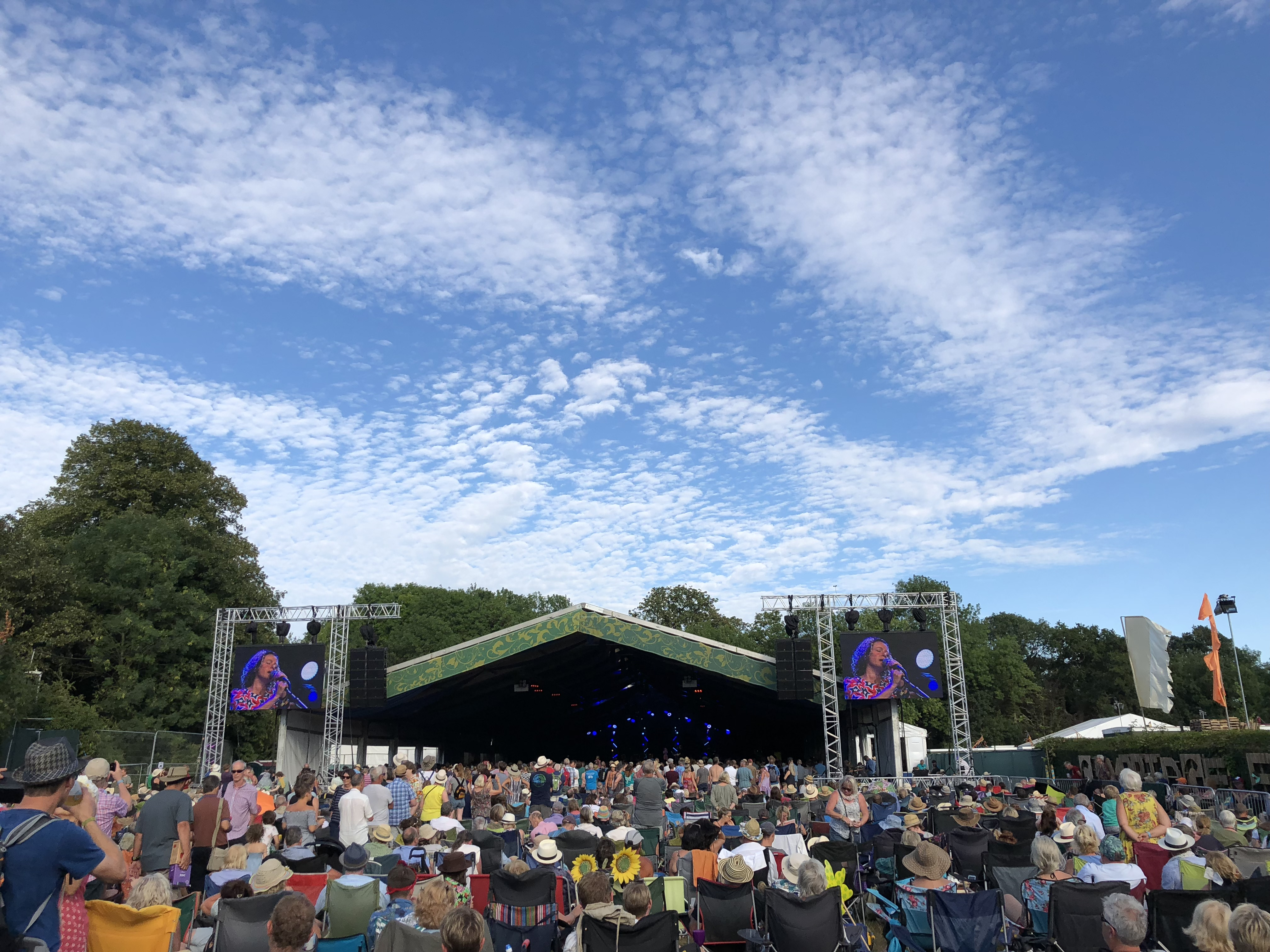 Cambridge Festival, Stage 1 With Kate Rusby