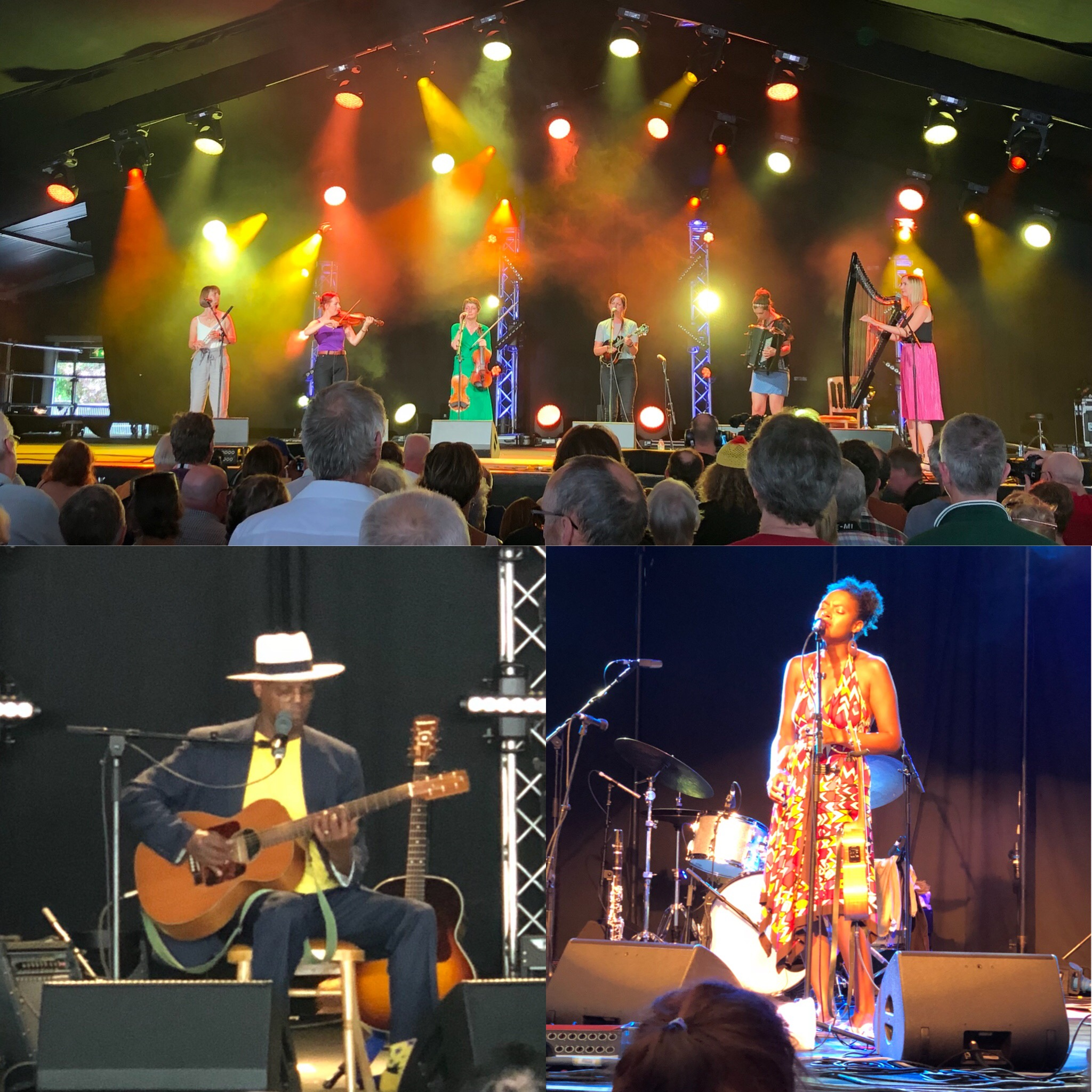 Cambridge Festival: The Shee, Eric Bibb And Alison Russell From The Birds Of Chicago