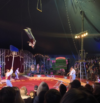 One Of The Gifford Circus Acts