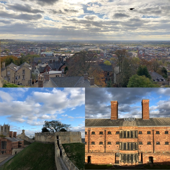 Views of Lincoln, The Castle Walls And The Prison