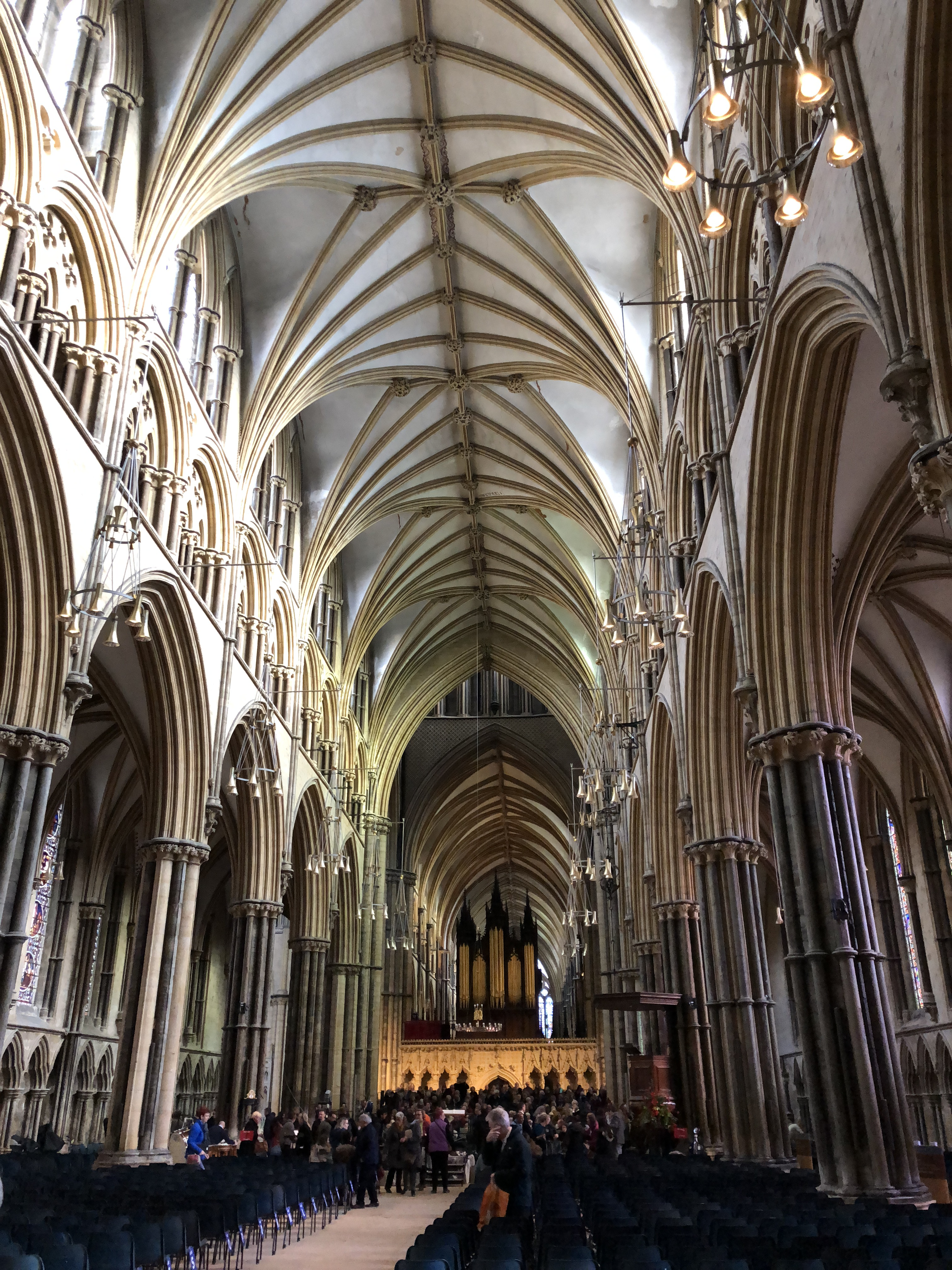 Remembrance Service Choir Practice At Lincoln Cathedral