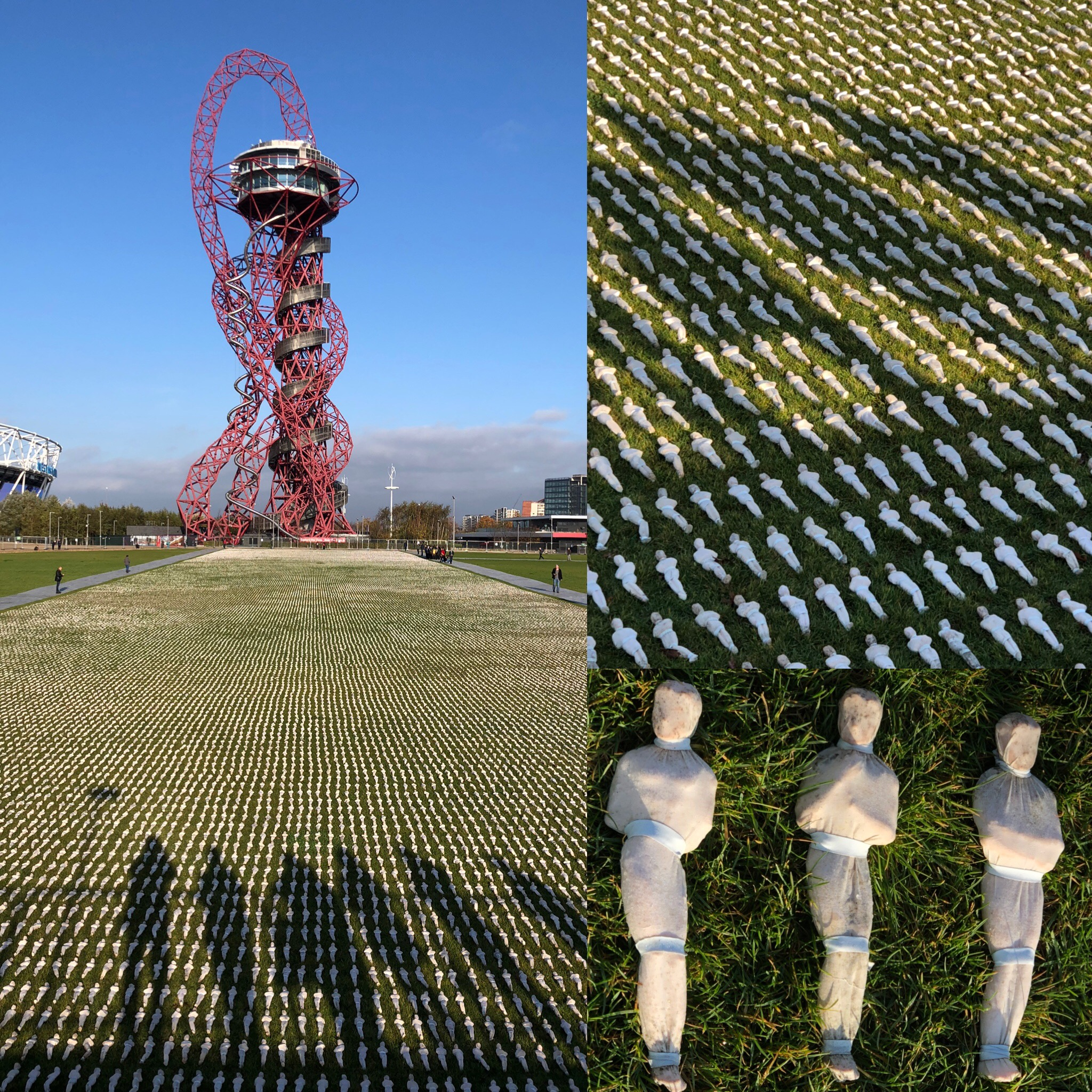 1st World War Commemoration At The Olympic Park, London