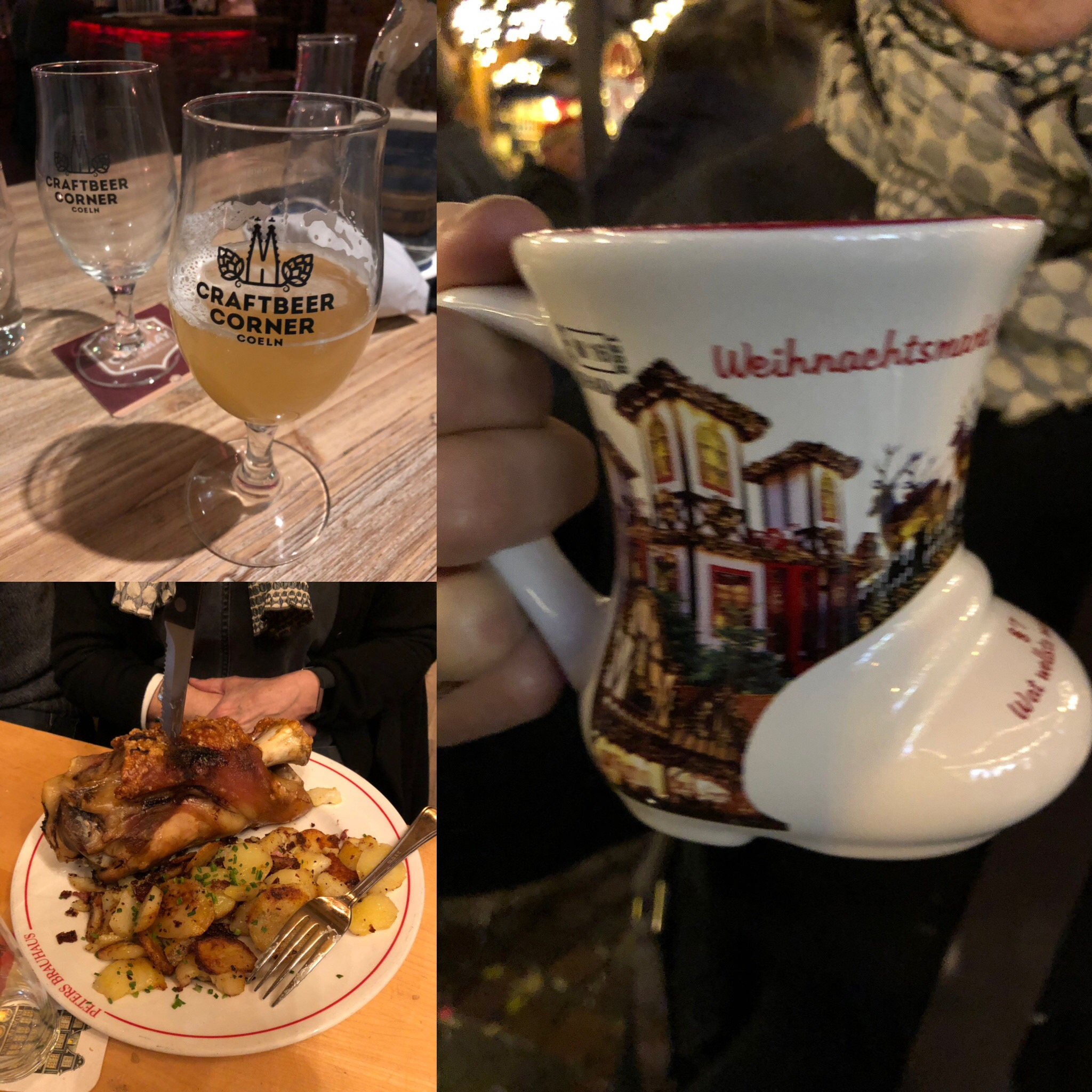 We Ate And Drank Well: Craft Beer, Schweinhaxen, Gluhwein