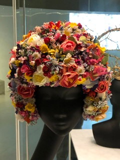Ornate Flowered Hat By Philip Treacy