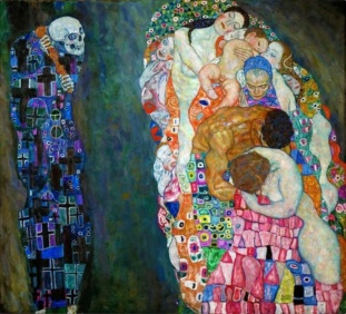 Death and Life By Klimt