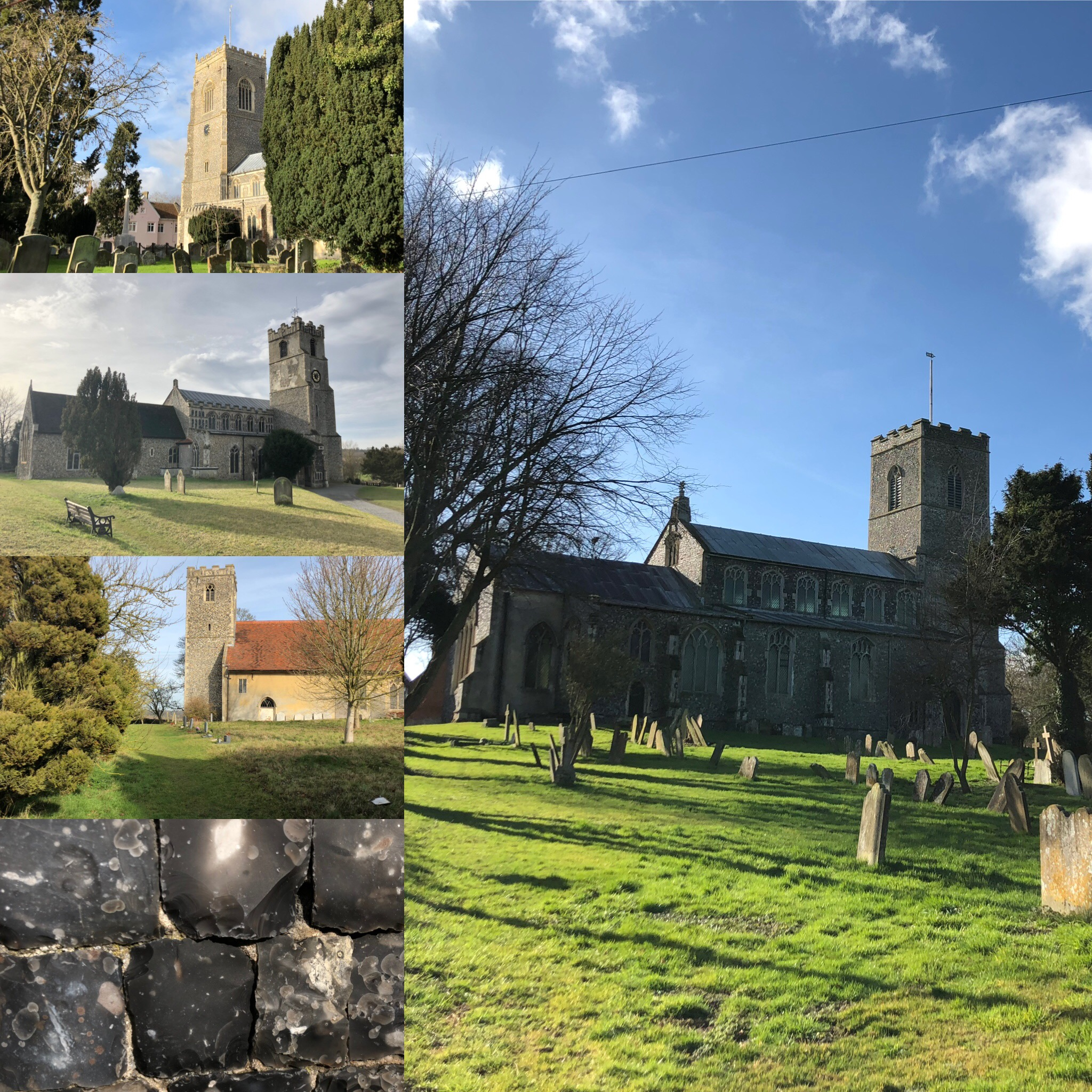 Suffolk Flint-Faced Churches