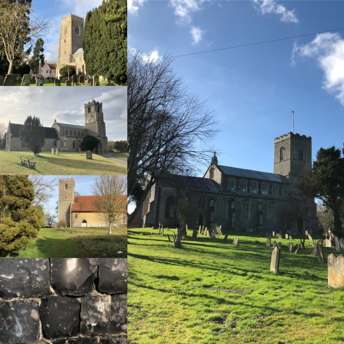 Suffolk Flint-Faced Churches