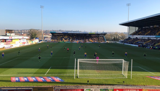 Forest Green Rovers At Mansfield Town