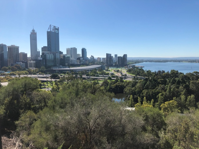 View Of Perth Centre From Kings Park