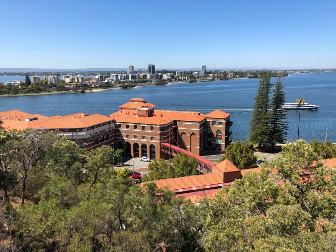 Swan Brewery From Kings Park