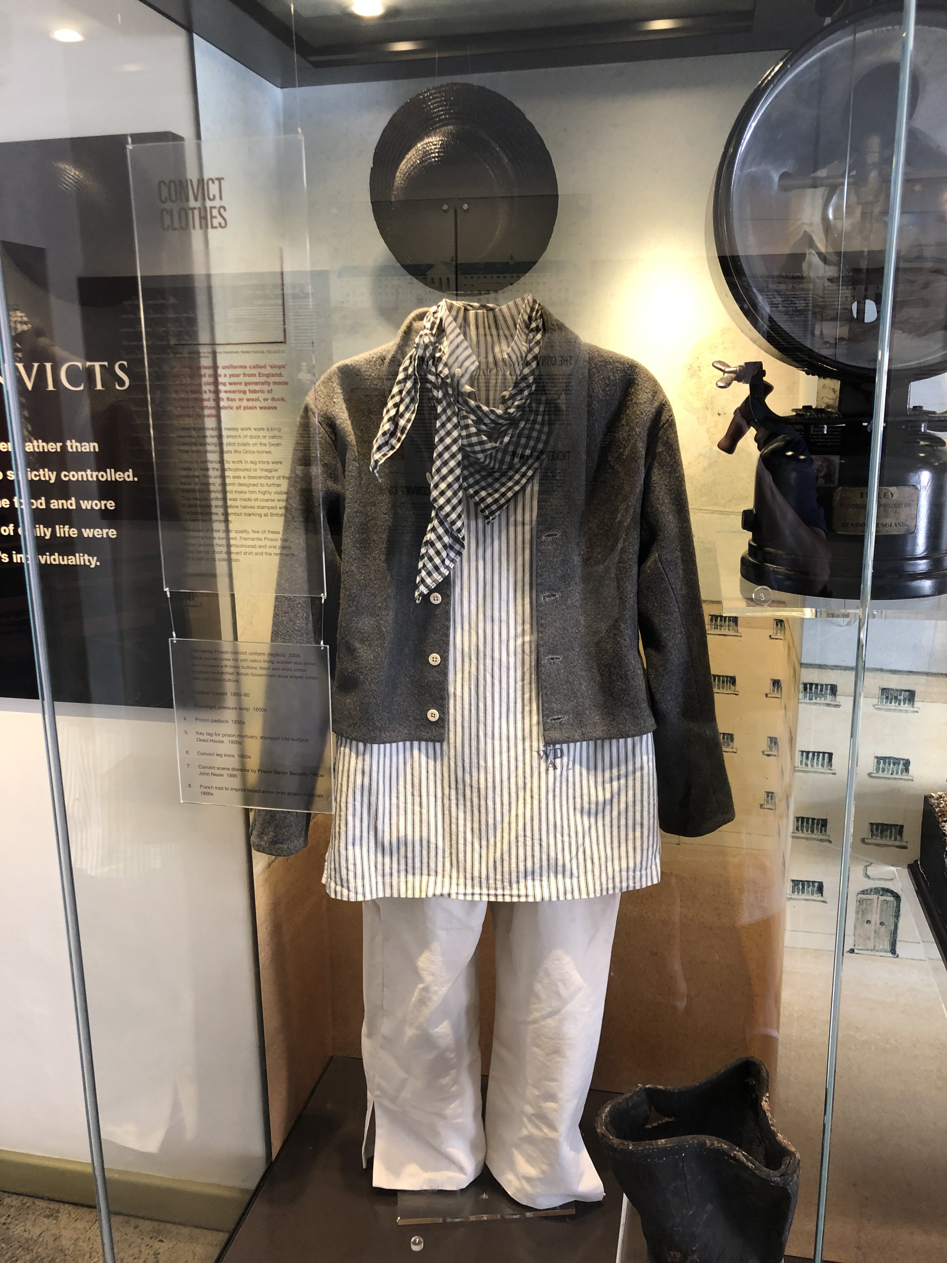 'The Slops': Convict Uniform