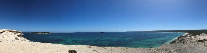 Panoramic Shot Of Hamelin Bay