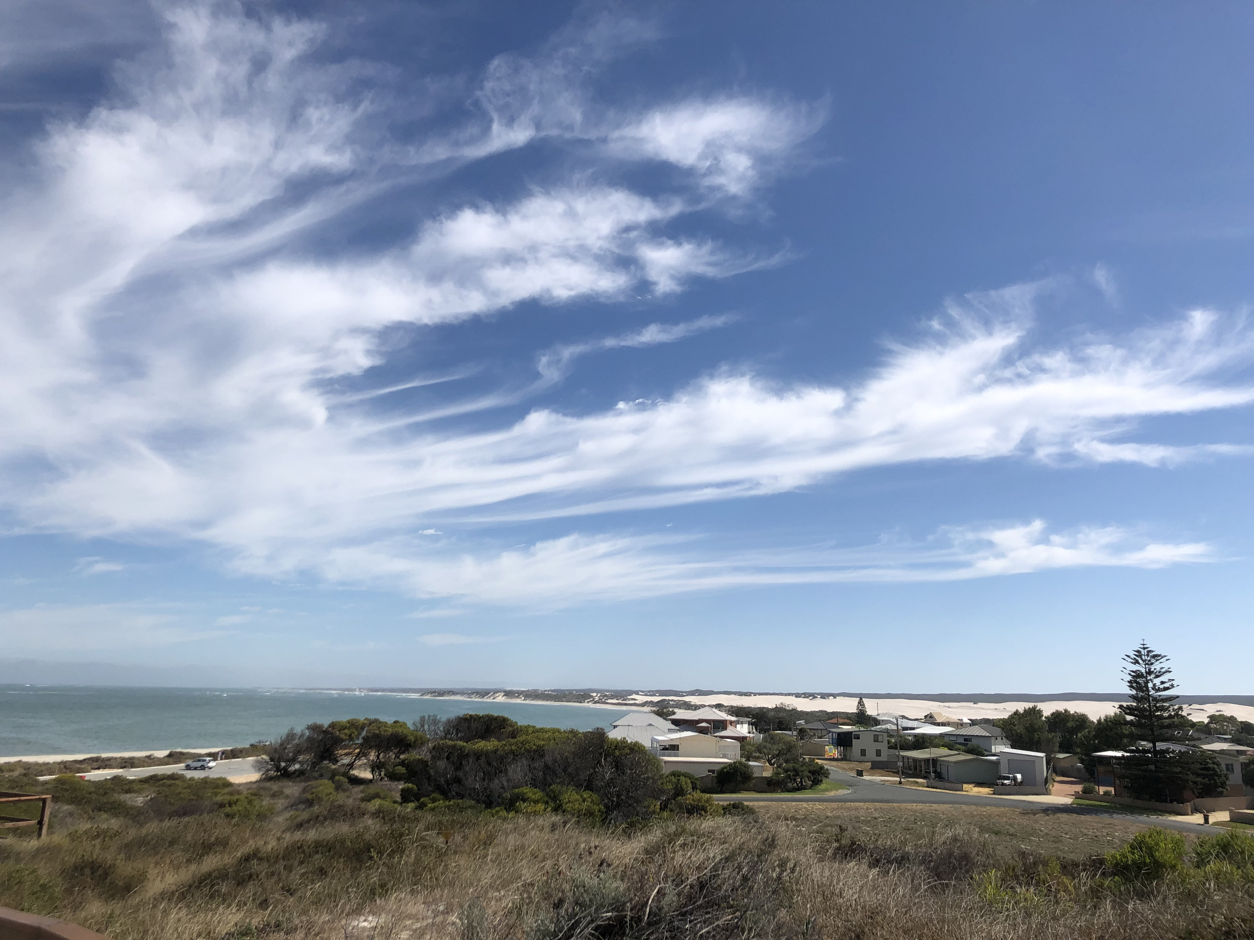 Sleepy Lancelin, Western Australia; Between Sea, Sky and White Dunes