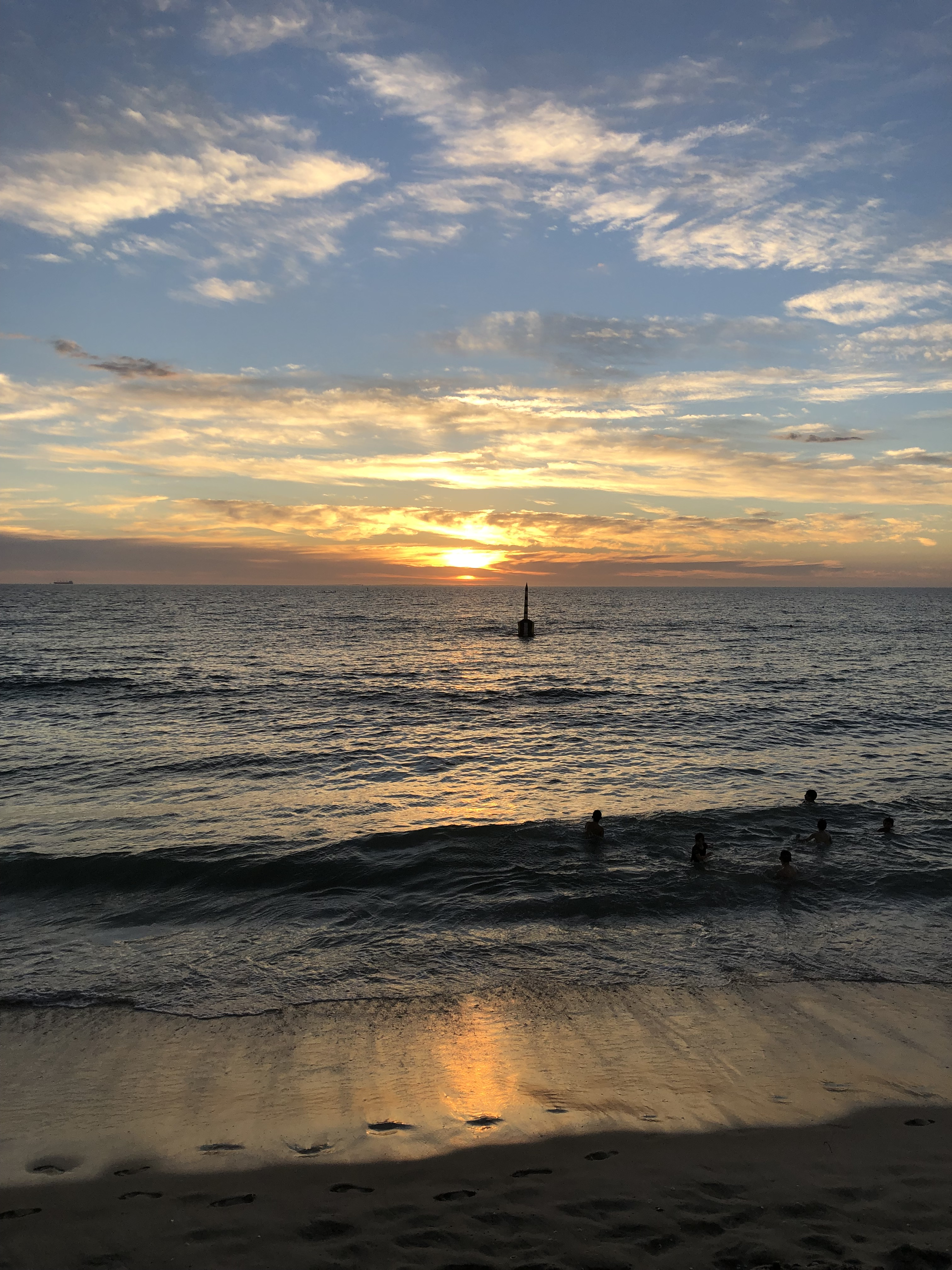 Sunset, Cottesloe Beach