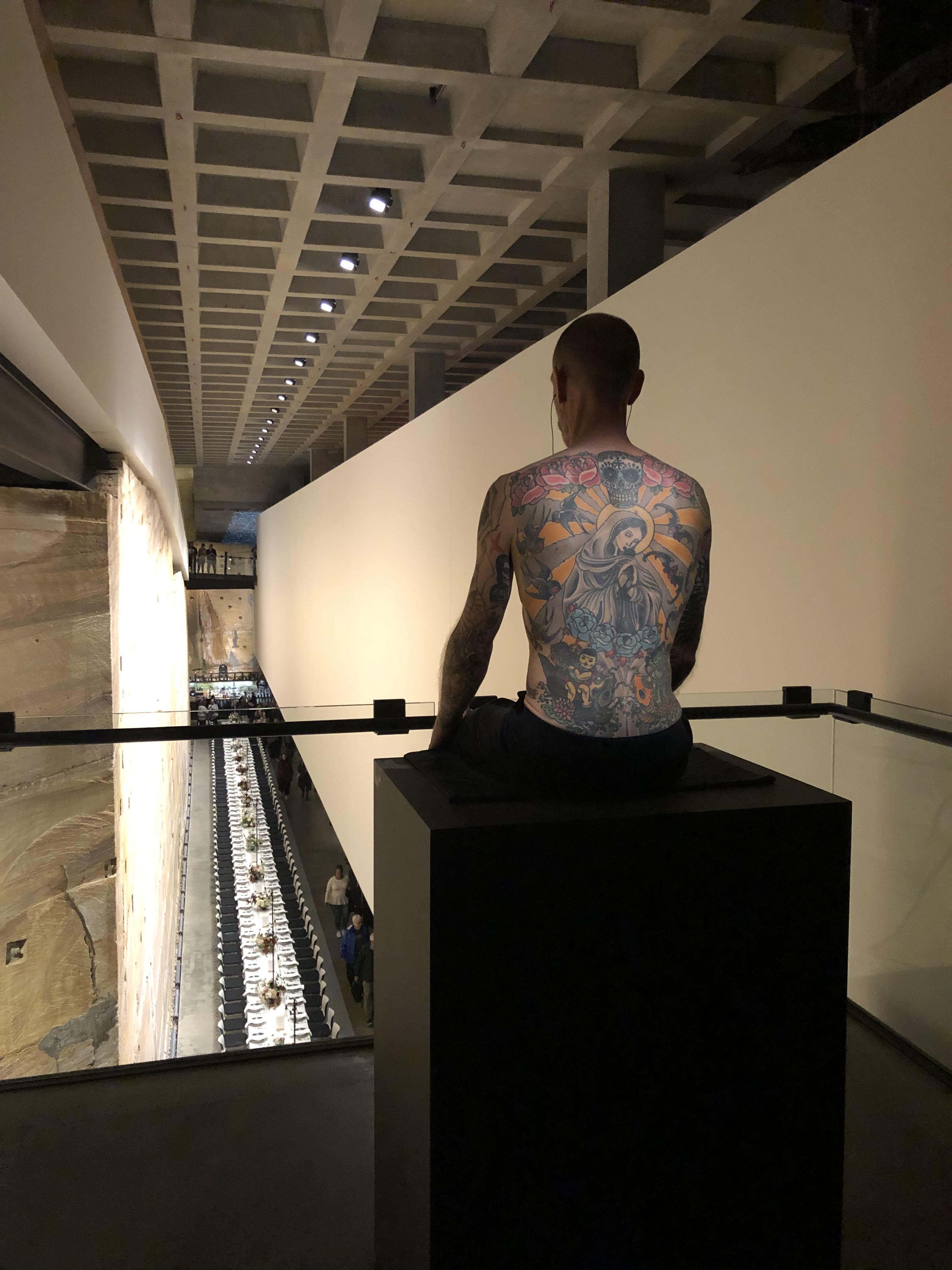 Tim, The Tattooed Man By Wim Delvoye