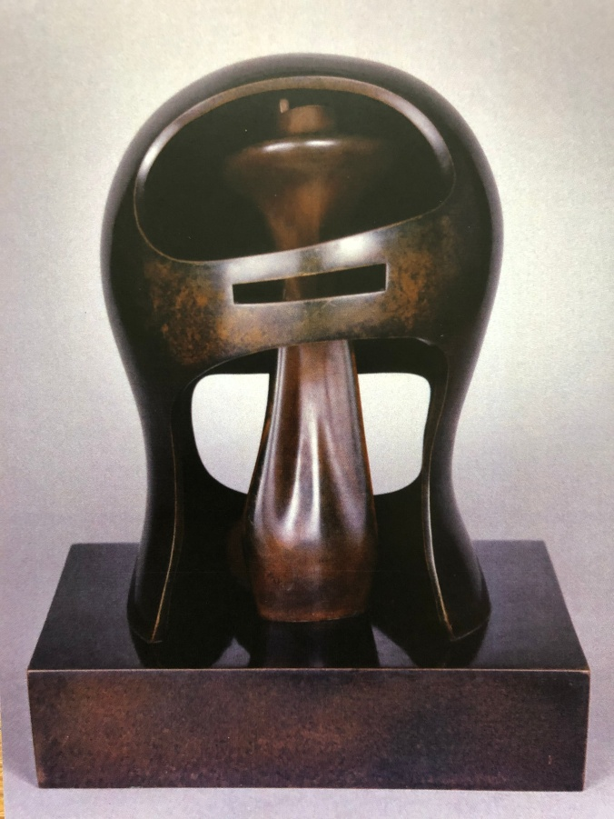 One Of Henry Moore's Helmet Heads