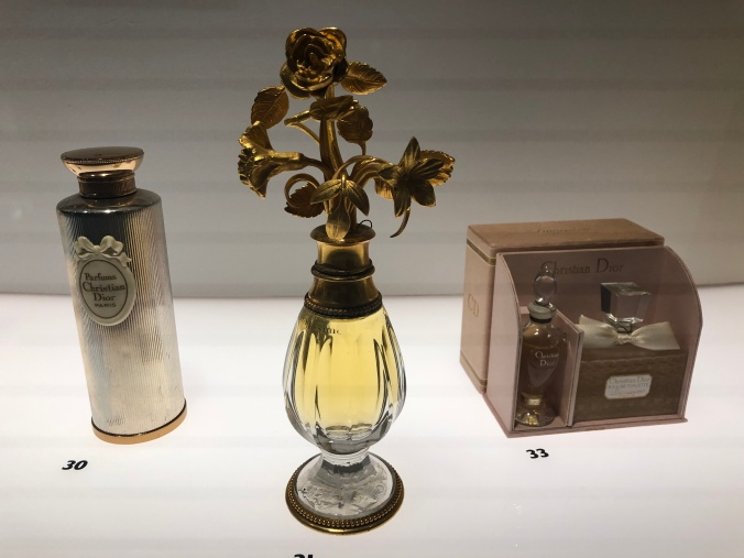 Dior Perfume Bottles And Travel Set From The 1950s
