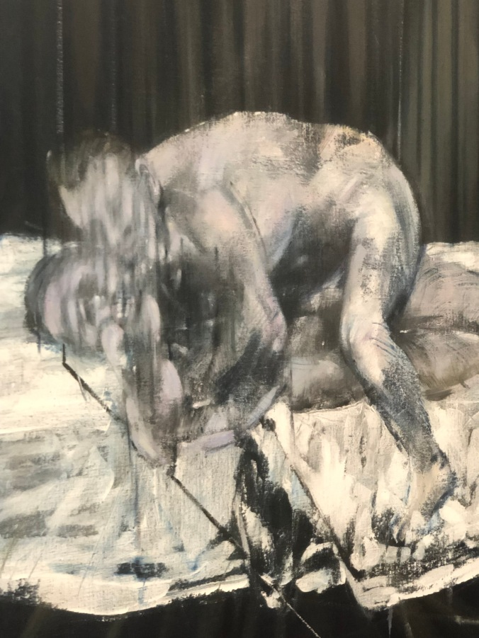 One of the Gagosian Exhibition Paintings By Francis Bacon