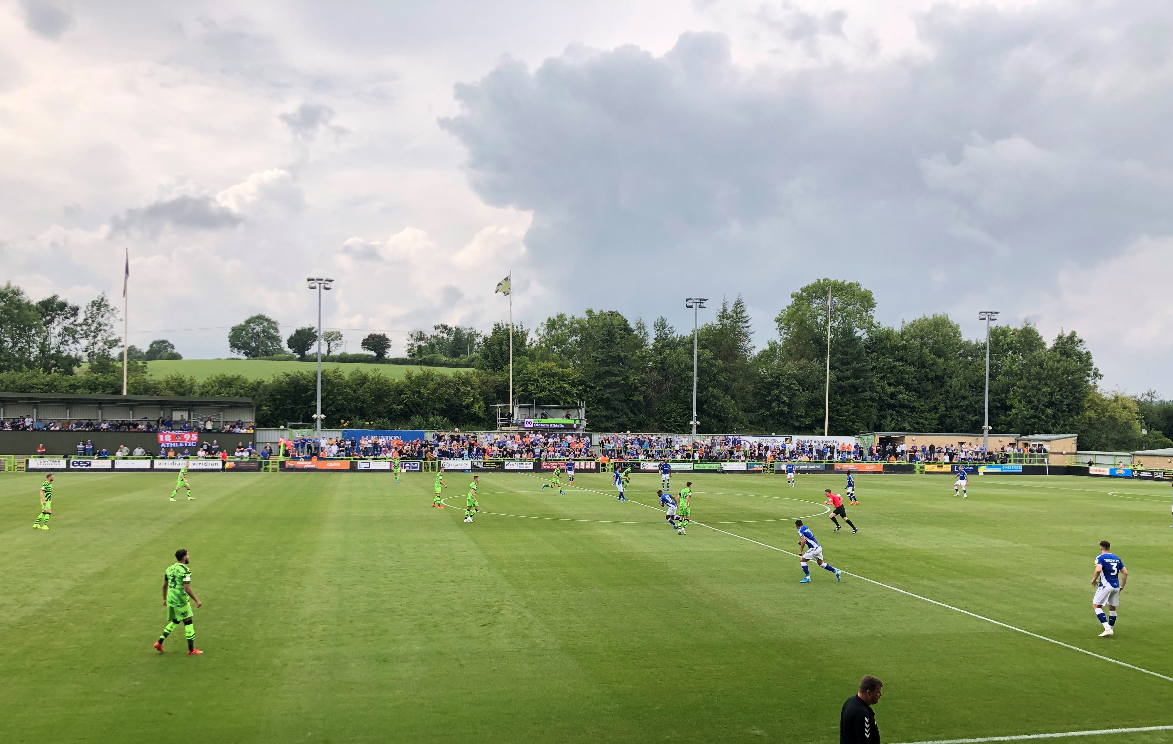 Kick Off At Forest Green Rovers' New Lawn