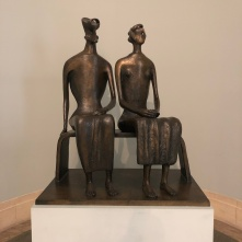 Henry Moore's 'King And Queen' (1957)