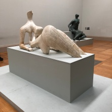 Henry Moore's 'Reclining Figure' (1951) and 'Draped Seated Figure' (1957)