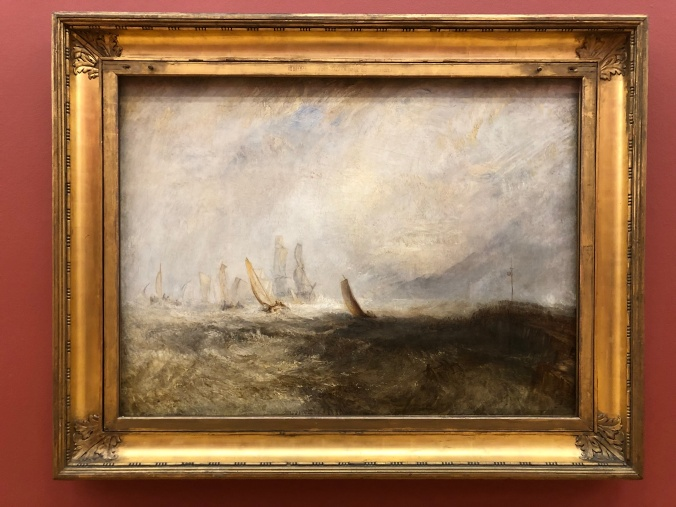 Turner's 'Fishing Boats Bringing A Disabled Ship Into Port Ruysdael' (1844)