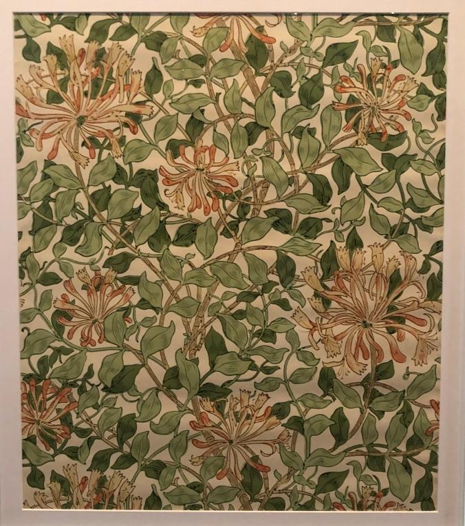 Honeysuckle Print Wallpaper - Typical William Morris