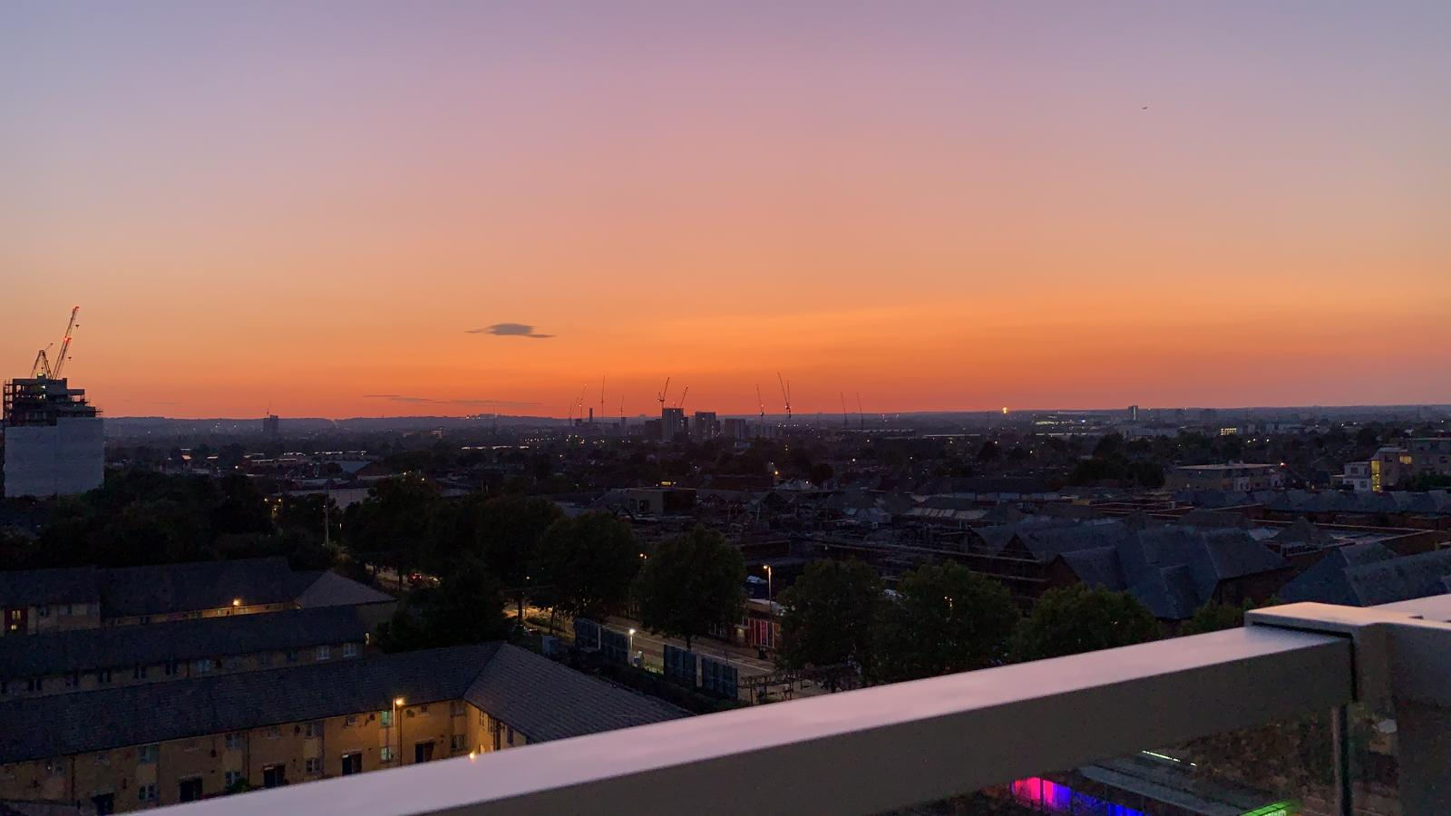 Sunset Over Walthamstow