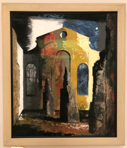 John Piper's Christ Church, Newgate (1941)