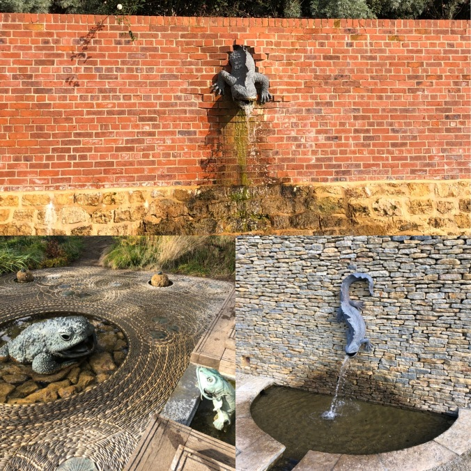 The Newt: Quirky Fountains