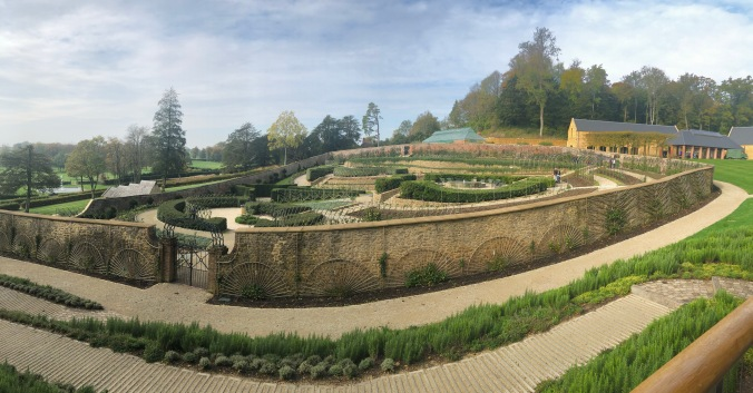 Panoramic View Of The Parabola Garden