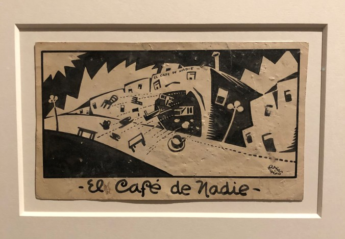 Postcard Showing Cafe De Nadie, Mexico City