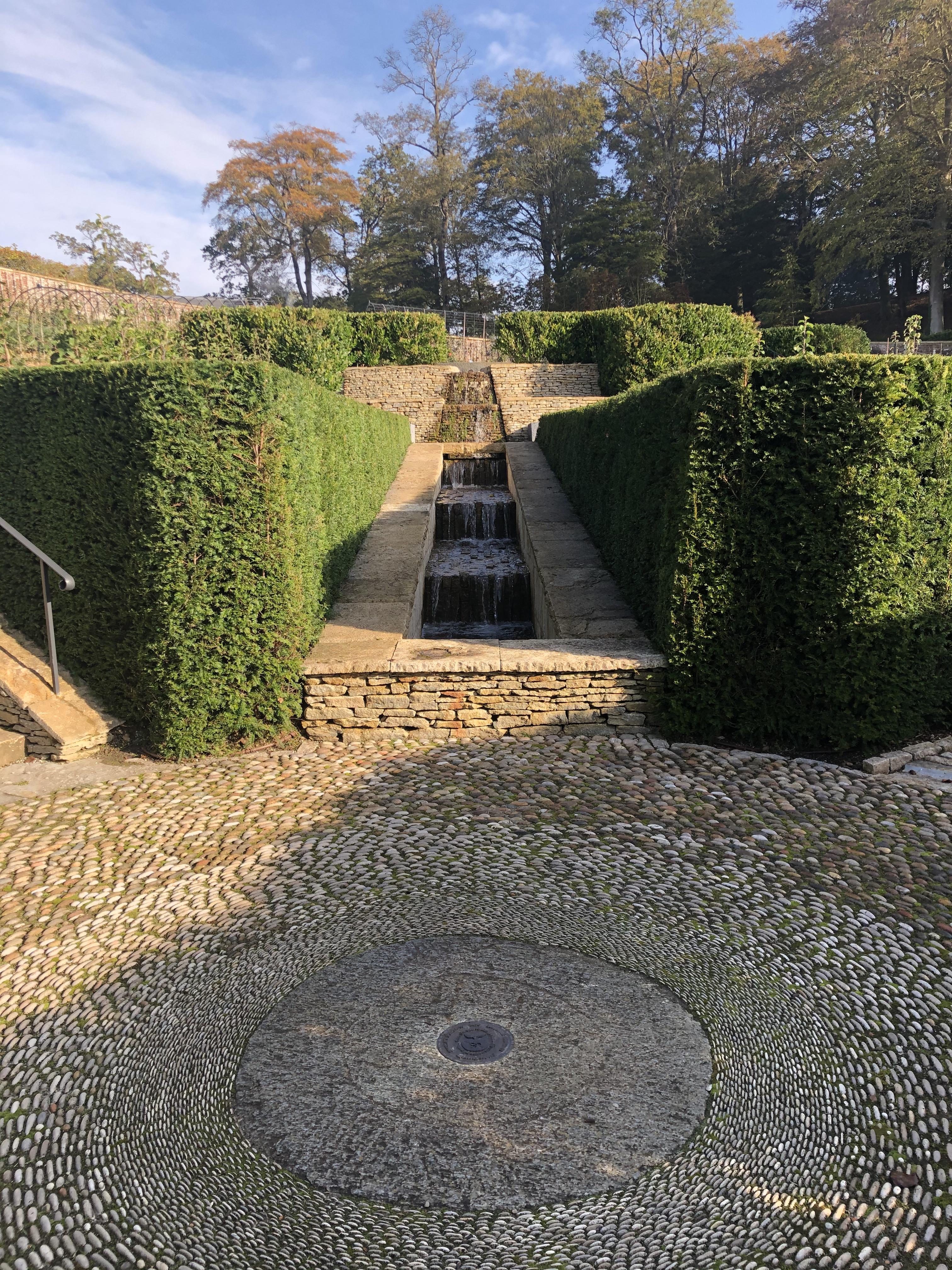 The Newt: Water Runs In The Parabola Garden